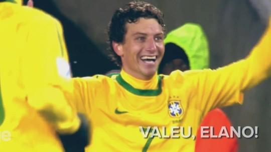 Caio Ribeiro reúne mensagens e faz bela homenagem a Elano; assista
