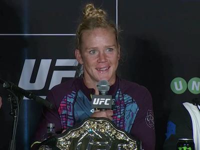 Holly Holm; UFC 193 (Foto: Reprodução)