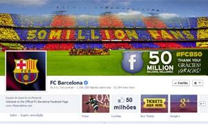 Barcelona comemora (Foto: Reprodução/Facebook)