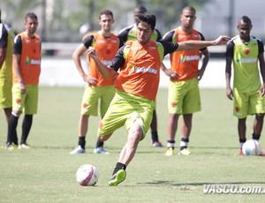 Luan vasco treino (Foto: Marcelo Sadio / Vasco.com.br)