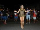 Tânia Oliveira participa de ensaio da União da Ilha: 'Incrível'
