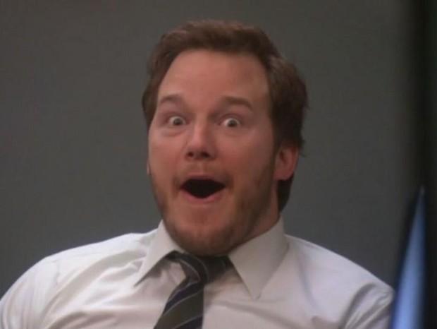 Melhor parar com os papéis heróicos, Chris Pratt (Foto: Reprodução)