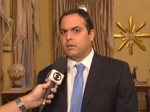Paulo Câmara, governador de Pernambuco (Foto: Reprodução / TV Globo)