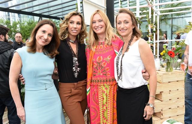 Monica Orcioli, Camila Klein, Ute Schumacher  Celine Cousteau (Foto: Divulgação)