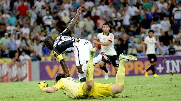 Seedorf jogo Botafogo contra o Corinthians (Foto: André Durão / Globoesporte.com)
