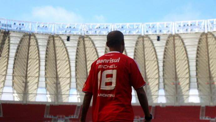 Internacional Inter Michel especial 2006 Inter Libertadores 2006 (Foto: Eduardo Deconto/GloboEsporte.com)