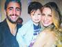 Luana Piovani mostra clique com marido e filho e elogia beleza dos dois