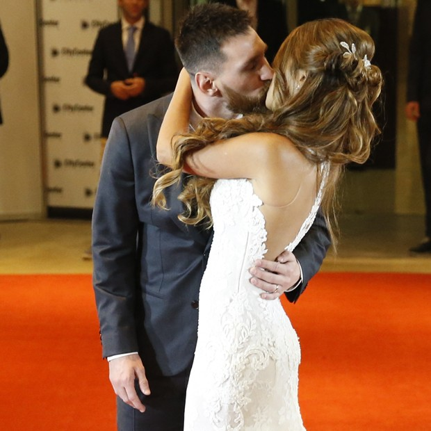 Lionel Messi e Antonella Roccuzzo (Foto: Getty Images)