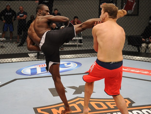 UFC Adam Cella; Uriah Hall TUF 17 (Foto: Ag&#234;ncia Getty Images)