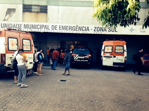 Morte postão Vila Cruzeiro Porto Alegre  (Foto: Dayanne Rodrigues/RBS TV)