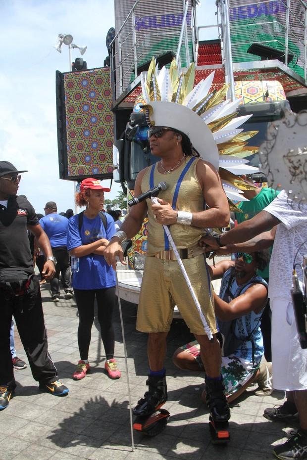 Carlinhos Brown (Foto: Denilson Santos com Wallace Barbosa e Wesley Costa / AgNews)
