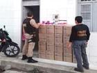 PF e PRF realizam operação em combate ao roubo de carga