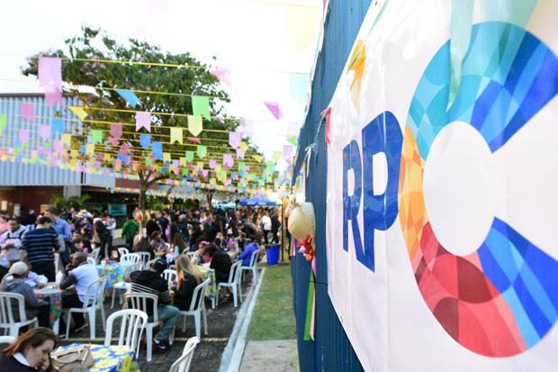 O arraiá da RPC em Foz foi bom demais! (Foto: Fernando Benega/ RPC)