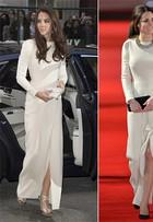 Kate Middleton repete vestido que usou há mais de um ano. Compare