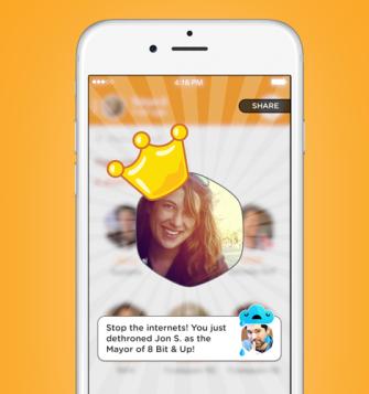 Prefeituras permitem que usuários disputem quem faz mais check-ins em um mesmo local (Foto: Reprodução/Foursquare) (Foto: Prefeituras permitem que usuários disputem quem faz mais check-ins em um mesmo local (Foto: Reprodução/Foursquare))