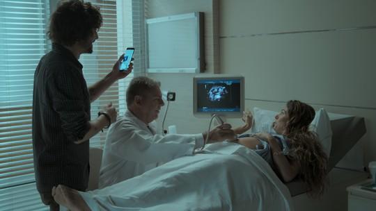 Rita e Ruy descobrem o sexo do bebê