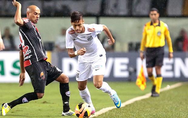 Neymar jogo Santos Joinville (Foto: Miguel Schincariol / Ag. Estado)