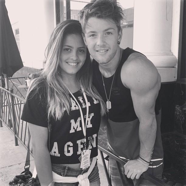 Dani favatto e membro do Emblem3, ex-The X Factor (Foto: reprodução/Instagram)