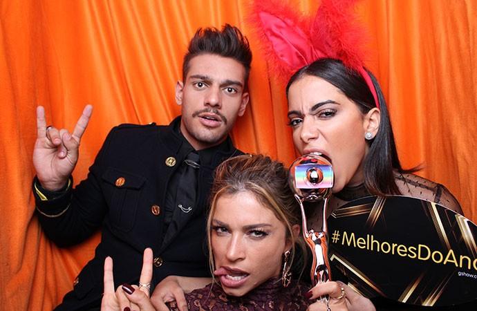 Grazi, Luan Santana e Anitta (Foto: Gshow)