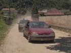 Desvio em estrada com buraco causa transtornos a moradores de Itajubá