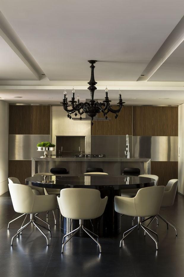 Inspiração italiana em apartamento paulista (Foto: Edu Castello/Divulgação)