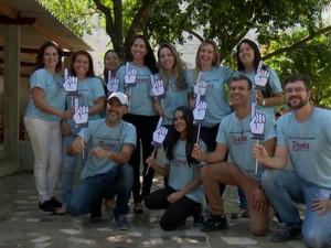 Projeto é novo e quer receber mais voluntários (Foto: Reprodução / TV Gazeta)
