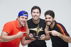 Banda Fulô de Mandacaru posa para o EGO (Foto: Anderson Barros/EGO)