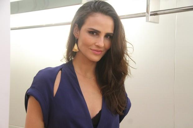 Fernanda Tavares (Foto: Daniel Delmiro / AgNews)