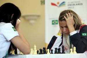 Ramyres Coelho (PE) ganha segundo título no xadrez das Olimpíadas Escolares (Foto: Heuler Andrey/AGIF/COB)