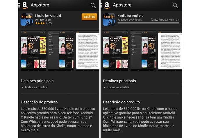 Baixe o app direto na página (Foto: Thiago Barros/Reprodução)