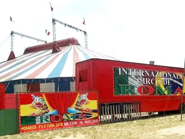 Artista trabalhava para o Circo de Roma (Foto: Reprodução/Facebook/Circo de Roma)