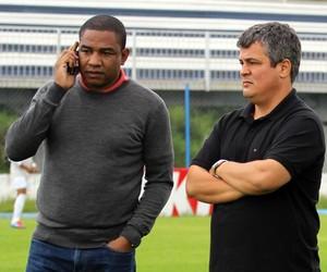 Cesar Sampaio Leo Franco e Hemerson Maria (Foto: Divulgação/Joinville EC)