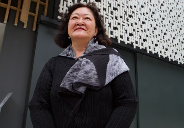 Angela Tamiko Hirata, presidente da Japan House  (Foto: Flavio Terra)