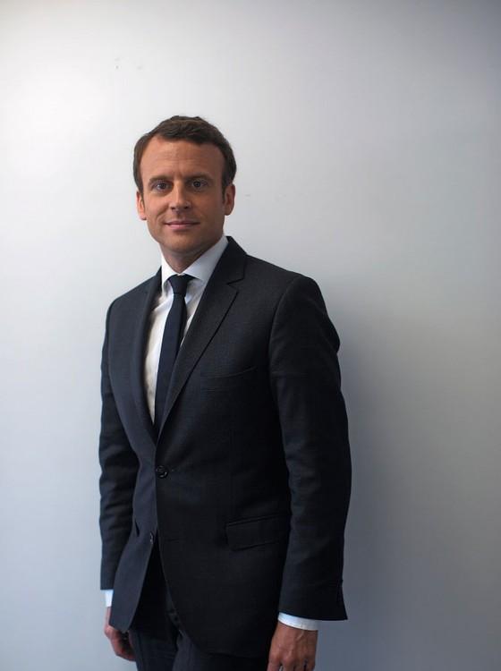Emmanuel Macron candidato apresidência da França (Foto: Pierre Terdjman/The New York Times)