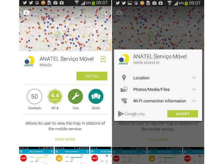 Baixe o app no Google Play (Foto: Reprodução Thiago Barros)