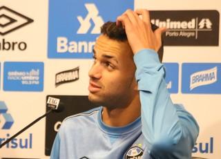Luan Grêmio (Foto: Eduardo Moura/GloboEsporte.com)