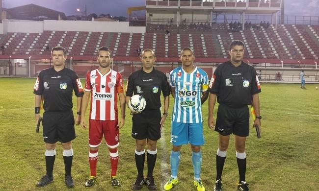 Villa Nova e Crac jogaram para cinco torcedores em Nova Lima, pela Série D do Brasileiro (Foto: Divulgação/Federação Mineira de Futebol)