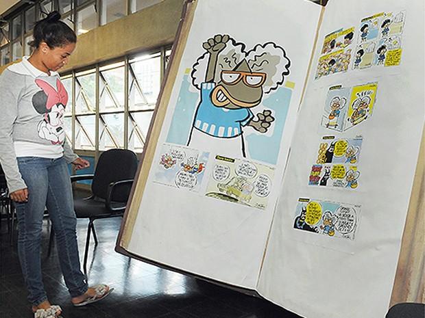 Personagens negros dos quadrinhos são tema de exposição (Foto: Luiz Granzotto/Divulgação Prefeitura de Campinas)