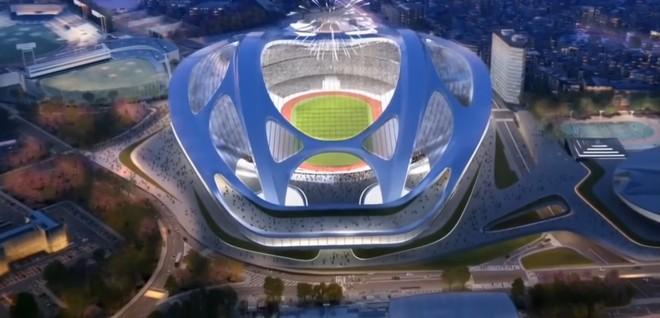 Estádio Olimpíadas de Tóquio Plágio (Foto: Reprodução SporTV)