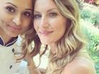 Thaíssa Carvalho tieta Gisele Bündchen: 'Diva mor'