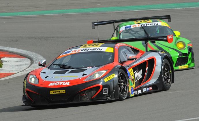 Luiz Razia e Chris van der Drift McLaren GT Open (Foto: FotoSpeedy / divulgação)
