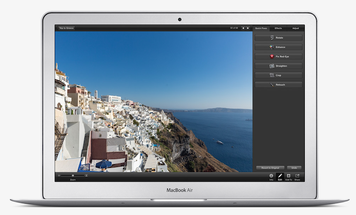 Como inserir filtros em fotos com o iPhoto do Mac OS X (Foto: Divulgação/Apple)