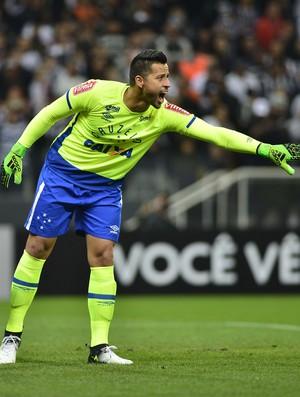 Fábio Corinthians x Cruzeiro (Foto: Marcos Riboli)