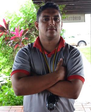 Pablo Simões, preparador físico do Galvez-AC (Foto: João Paulo Maia)