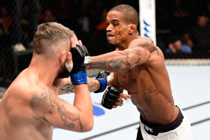 Alan Nuguette Damien Brown UFC Brisbane (Foto: Getty Images)