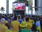 Telões espalhados pelo Recife vão transmitir jogo Brasil X Colômbia