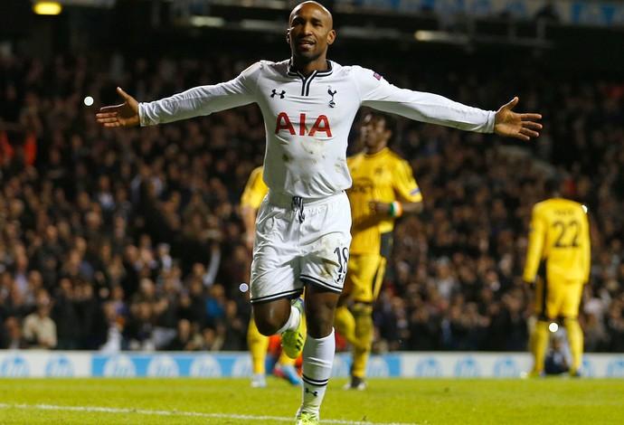 Defoe gol  Tottenham (Foto: Reuters)
