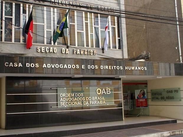 Eleição da OAB-PB deve acontecer na segunda quinzena de novembro (Foto: Francisco França/Jornal da Paraíba)