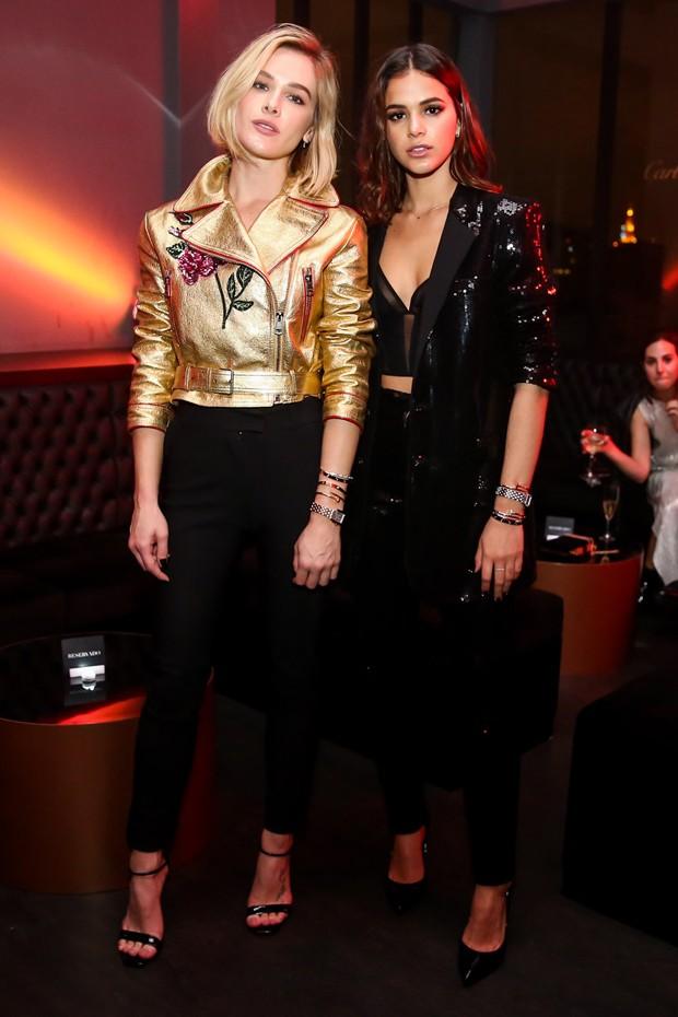 Fiorella Mattheis e Bruna Marquezine (Foto: Manuela Scarpa/Brazil News)