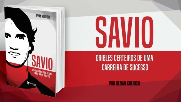 savio livro flamengo santa catarina lançamento (Foto: Divulgação )